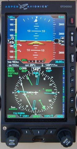 Aspen Avionics EFD1000