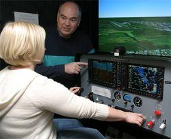 G1000 simulator training Redbird Frasca PFC