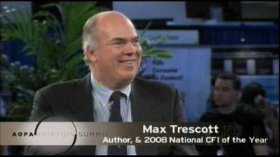 AOPA Summit Max Trescott