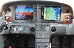 Instrument Training IFR rating G1000 Perspective Cirrus SR22