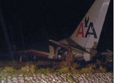 Tail AA Flight 331
