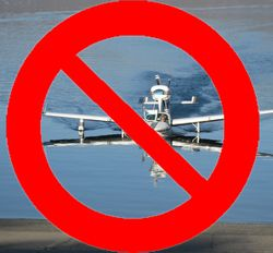Seaplanes prohibited