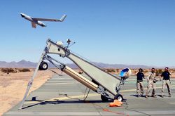 Unmanned drone launch