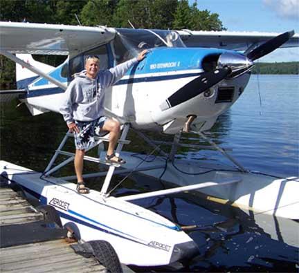 Rusty Eichorn and floatplane 1