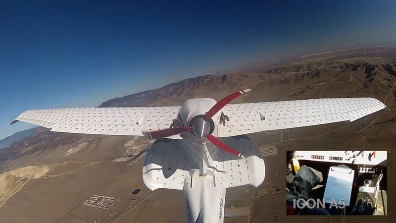 Icon A5 spin resistant