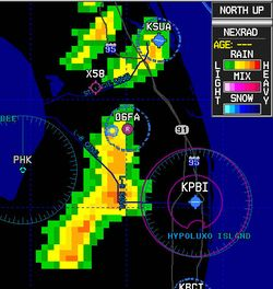 NTSB NEXRAD Weather Age Alert