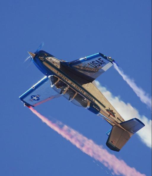 Julie Clark Airshow pilot
