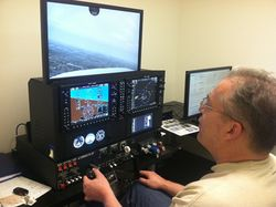 G1000 simulator GT Glass Trainer