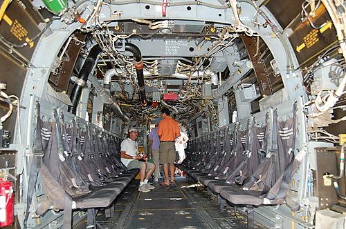 Inside the V22 Osprey
