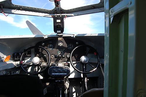 Ford Trimotor Cockpit