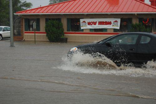 Valentine, NE under water