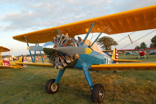 Stearman poised for action