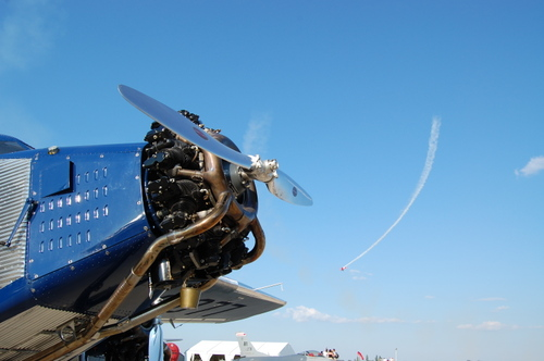 Ford TriMotor and AirShow